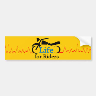 Life for Riders - Watch for Motorcycles Bumper Sticker