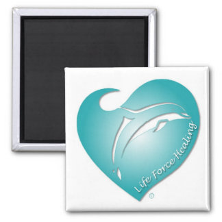 Life Force Healing 2 Inch Square Magnet