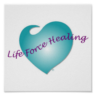 Life Force Healing Poster