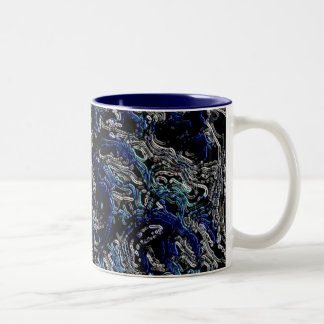 Life Forms Two-Tone Coffee Mug