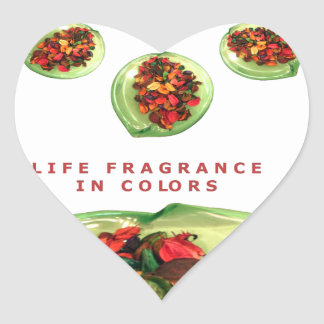 Life Fragrance in color.png Heart Sticker