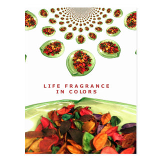 Life Fragrance in color.png Postcard