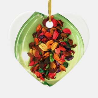 Life Fragrance in colors.png Ceramic Ornament