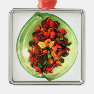 Life Fragrance in colors.png Metal Ornament