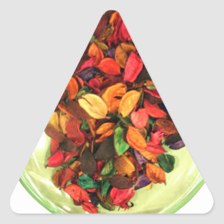 Life Fragrance in colors.png Triangle Sticker