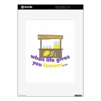 Life Gives Lemons iPad Decal