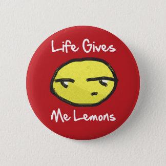 Life Gives Me Lemons Button