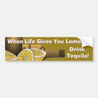 Life Gives You Lemons Bumper Stickers
