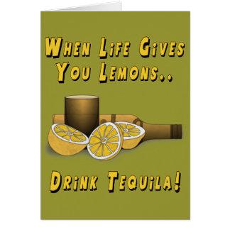 Life Gives You Lemons Greeting Card