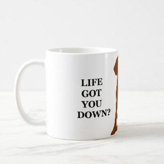 Life Got You Down? Get Yourself A Vizsla! Coffee Mug