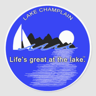 Life Great at the lake LC Stickers