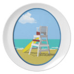 Life Guard Chair Plate