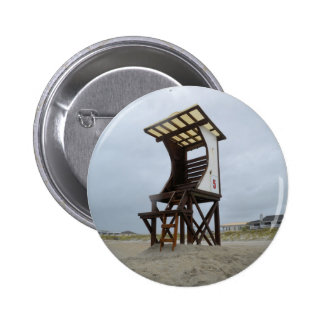 Life Guard Stand Wrightsville Beach NC Pinback Button