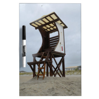 Life Guard Stand Wrightsville Beach NC Dry Erase Whiteboard