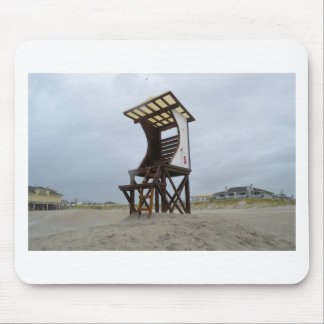 Life Guard Stand Wrightsville Beach NC Mouse Pad