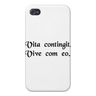 Life happens. Live with it. iPhone 4/4S Cases