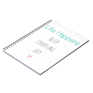 Life Happens Notebook