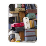 Life has a lot of baggage 2 rectangular photo magnet