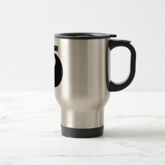 Life hurts, with LOVE yin-yang symbol Travel Mug