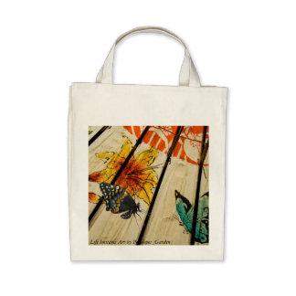Life Imitates Art by Penelopes_Garden Tote Bags