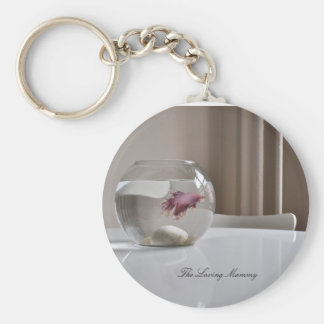 Life in a Fishbowl Keychain