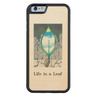 Life in a Leaf Carved® Maple iPhone 6 Bumper