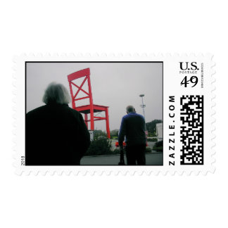 Life In A Parallel Universe Stamp