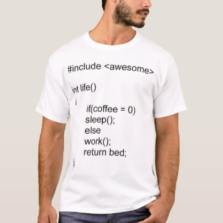 Life in C++ T-Shirt