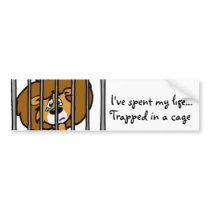 Life in Cage Bumper Sticker