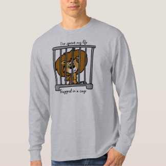 Life in Cage Long Sleeve T T-shirt