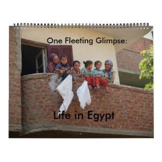 Life in Egypt calendar