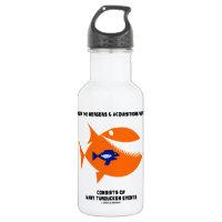 Life In Mergers Acquistions World Turducken Fish 18oz Water Bottle