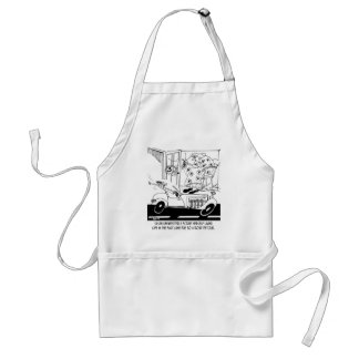 Life In The Fast Lane Adult Apron