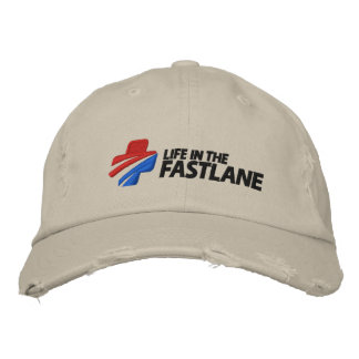 Life in the Fast Lane Cap Embroidered Hats