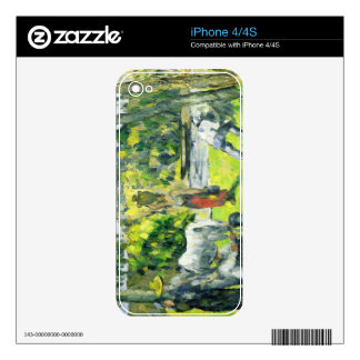 Life in the Fields, c.1875 (oil on canvas) iPhone 4 Decal