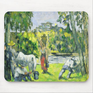 Life in the Fields, c.1875 (oil on canvas) Mouse Pad