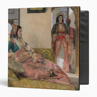 Life in the harem, Cairo 3 Ring Binder