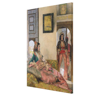 Life in the harem, Cairo Canvas Print