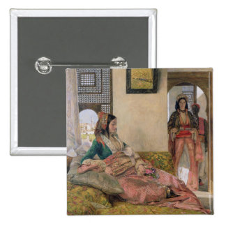 Life in the harem, Cairo Pinback Button