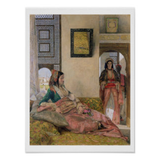 Life in the harem, Cairo Poster
