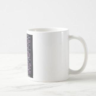 LIFE IN THE WOMB CLASSIC WHITE COFFEE MUG