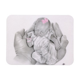 Life in your hands baby Flexi Magnet