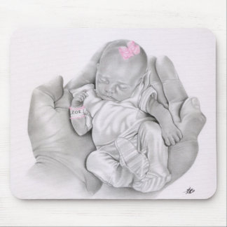 Life in your Hands Baby Mousepad