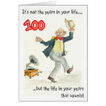 Life in Your Years 100th Birthday Card