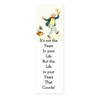'Life in Your Years' Bookmark profilecard
