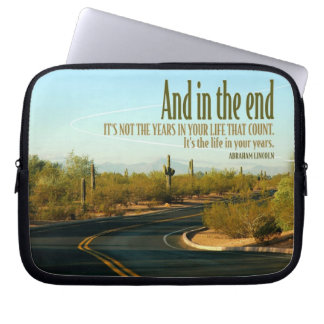 Life In Your Years Custom Laptop Sleeve