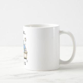 Life is 9 to 5 classic white coffee mug