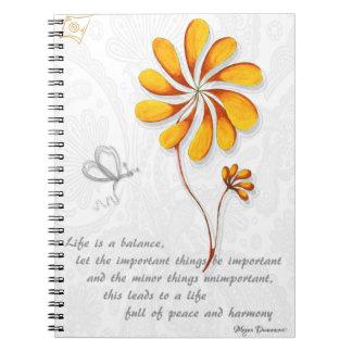 Life is a Balance Notebook