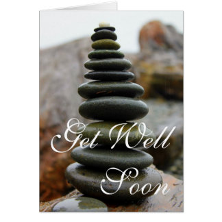 Life is a Balancing Act - Get Well Greeting Card