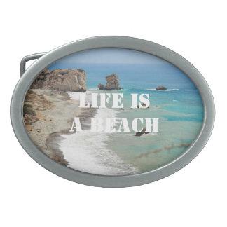 Life Is A Beach Belt Buckle